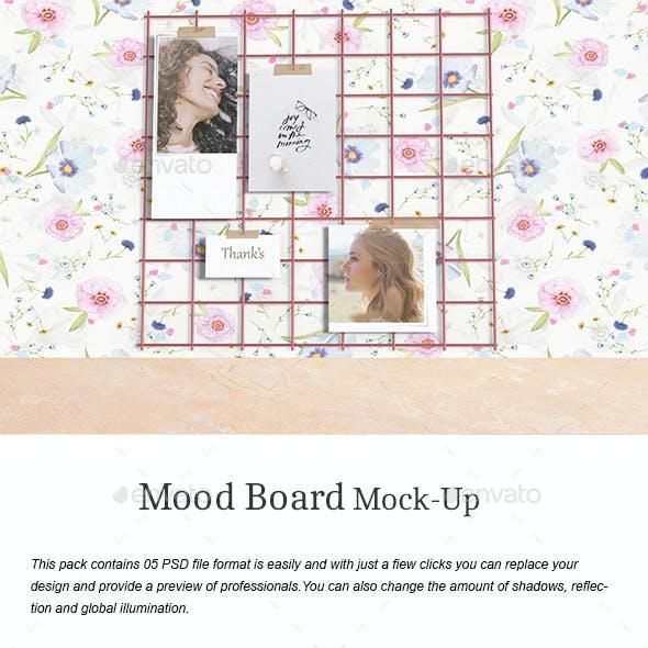 Mood Board Mock-Up