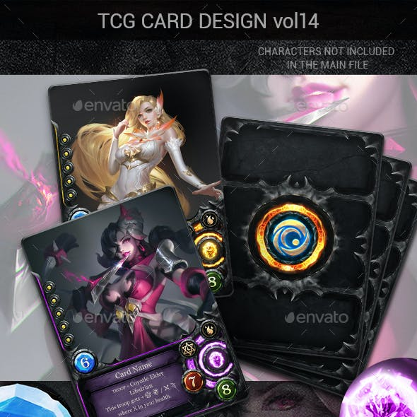 TCG Card Design Vol 14