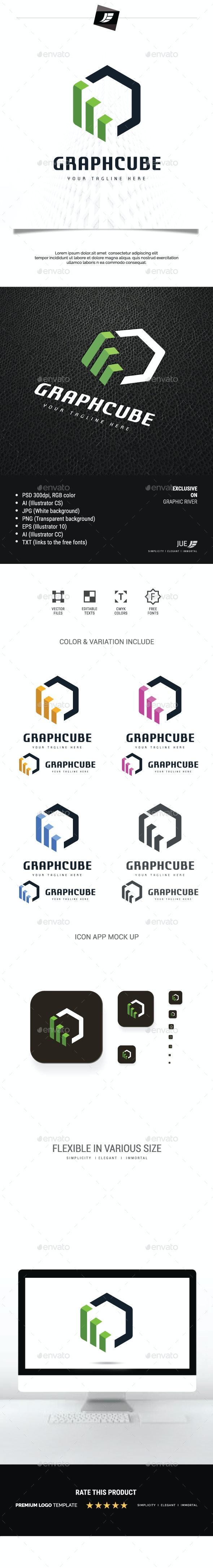 Graphic Cube Logo - Symbols Logo Templates