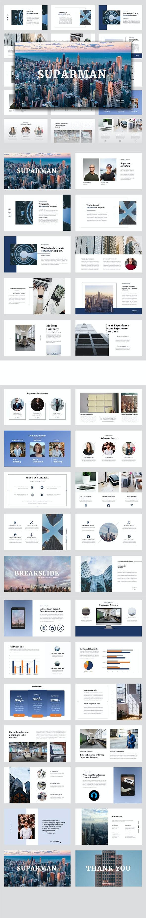 Suparman – Business Google Slides Template - Google Slides Presentation Templates