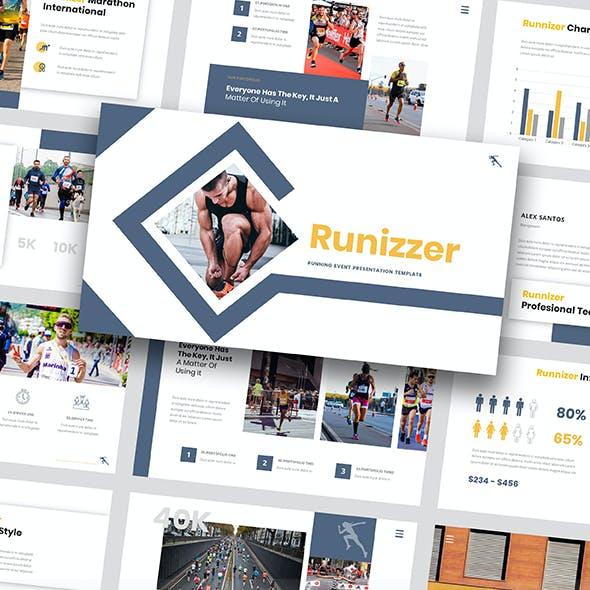 Runnizer - Running Event Powerpoint Template