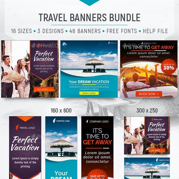 Travel Banners Bundle