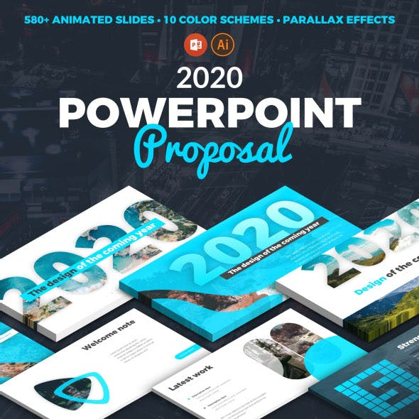 Animated Pitch Deck Proposal 2020