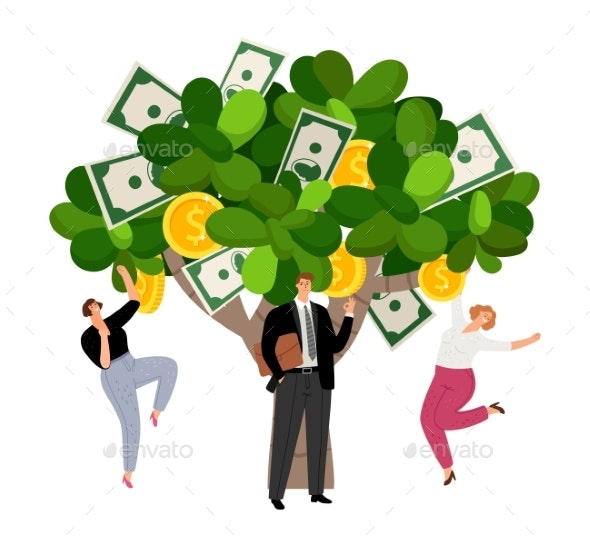 Investment Profit Money Tree - Concepts Business