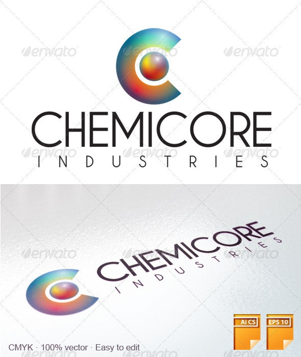 Chemicore Logo Template - Letters Logo Templates