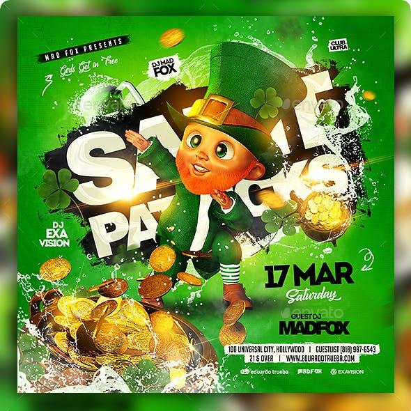 St Patricks Day Party Flyer