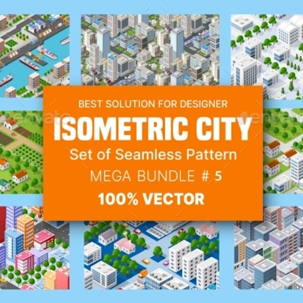 Isometric Set of Blocks Module of Areas