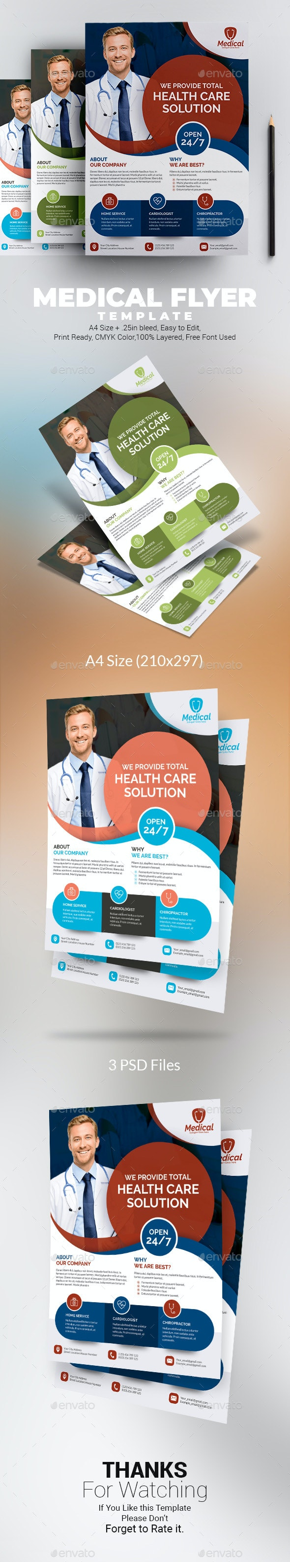 Medical Flyer Template - Corporate Flyers