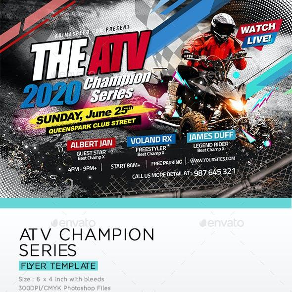 ATV Championship Flyer