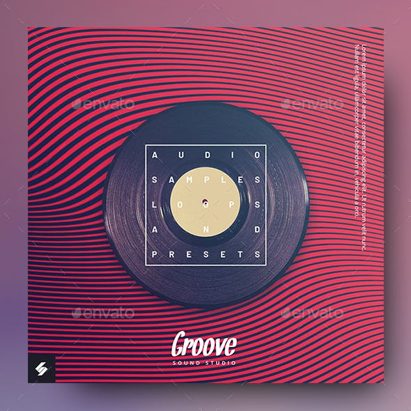 Groove Samples - Music Album Cover Artwork Template