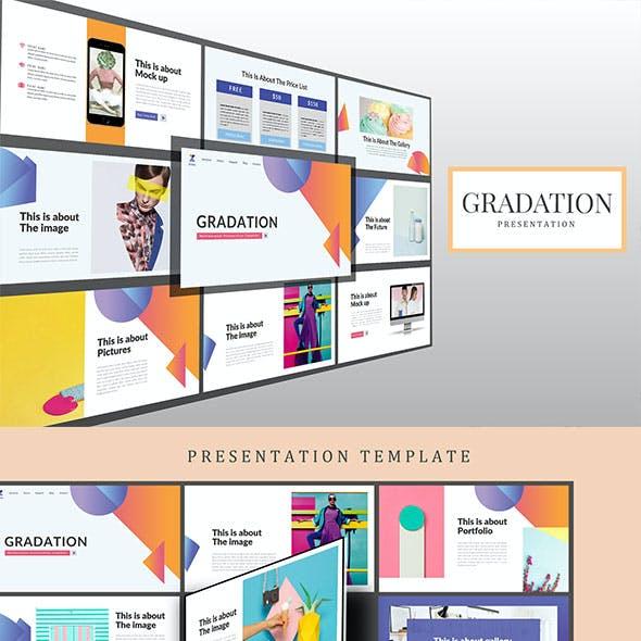 Gradation Google Slides Presentation