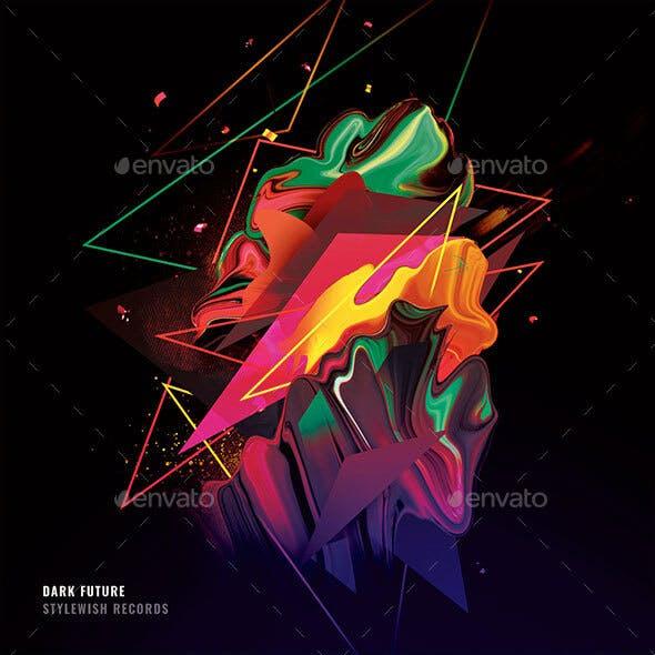Dark Future CD Cover Artwork