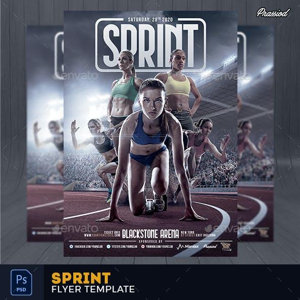 Sprint Flyer Template