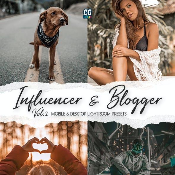 Influencer & Blogger Lightroom Presets Vol. 2