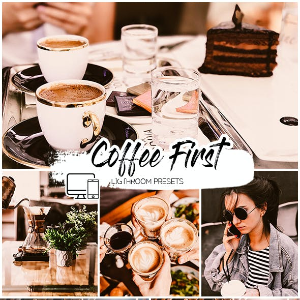 Coffee First Lightroom Presets