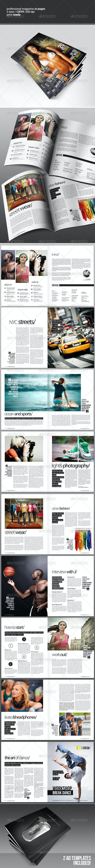 Professional Magazine - Magazines Print Templates