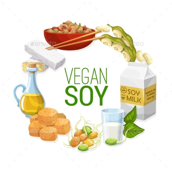 Soy Products - Food Objects