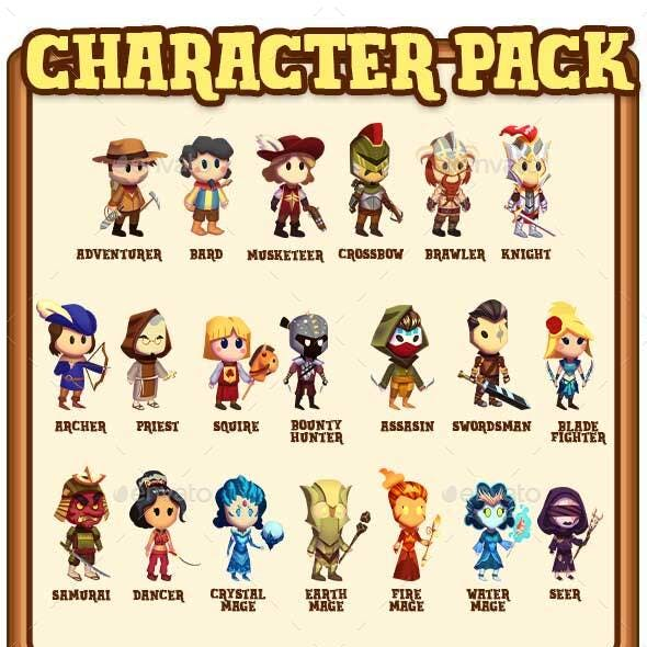 2d Character Pack