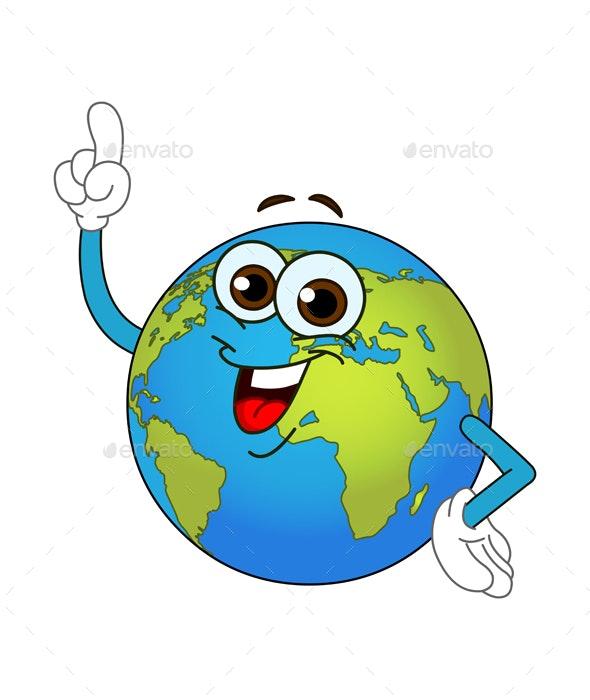 World Globe Cartoon by yayayoyo | GraphicRiver