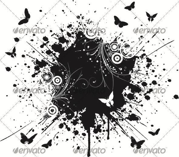 Decorative grunge - Backgrounds Decorative