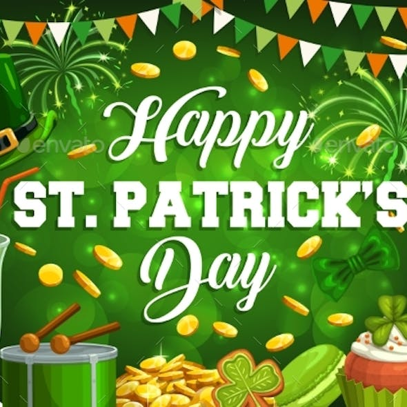 St. Patricks Day Spring Holiday Feast
