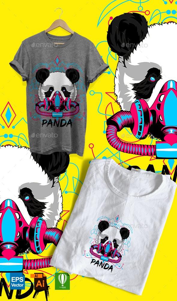 POP PANDA - T-Shirts
