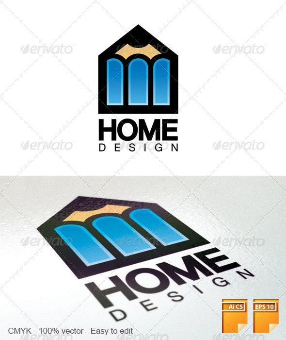 Home Design Logo - Objects Logo Templates