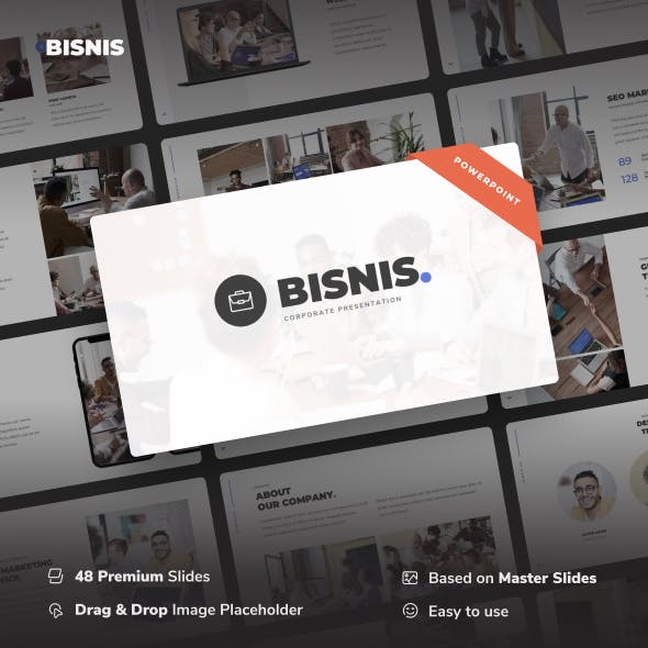 Bisnis - Corporate Business Power Point Template