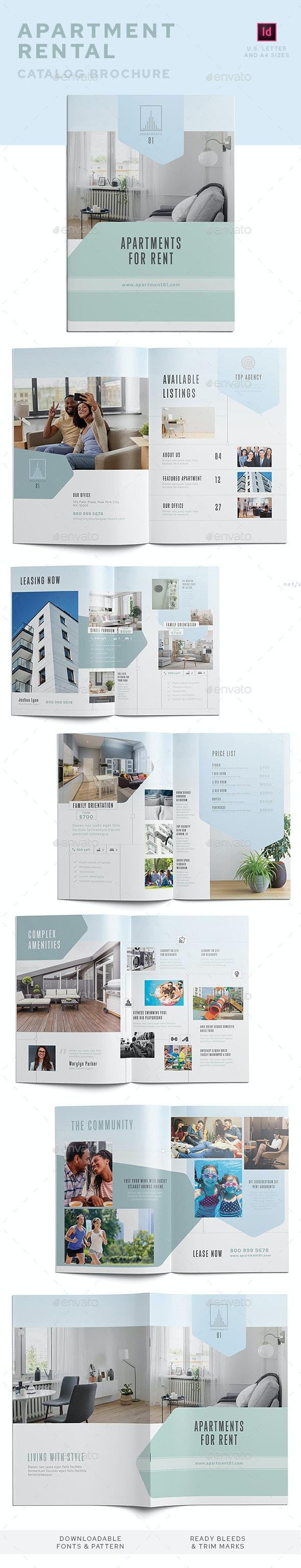 Apartment Rental Catalog - Catalogs Brochures