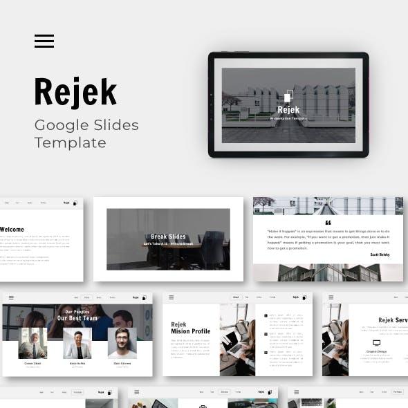 Rejek Business Google Slide Template