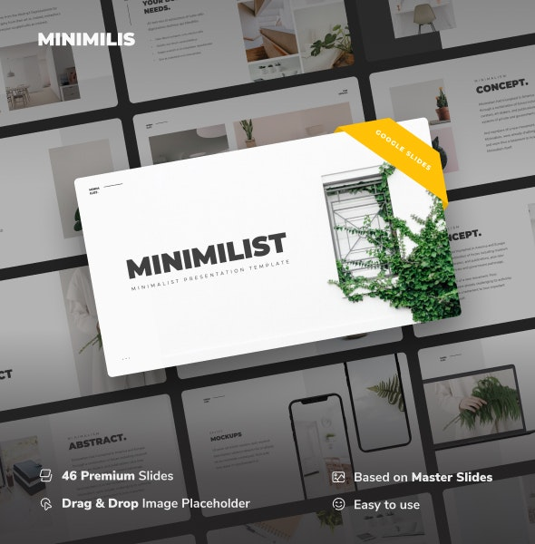 Minimilis - Minimalist Business Google Slides Template - Google Slides Presentation Templates