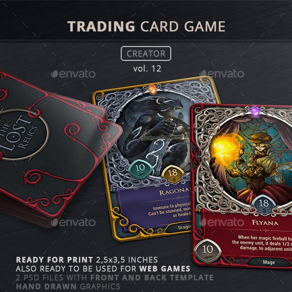 Trading Card Game Creator - Vol 12