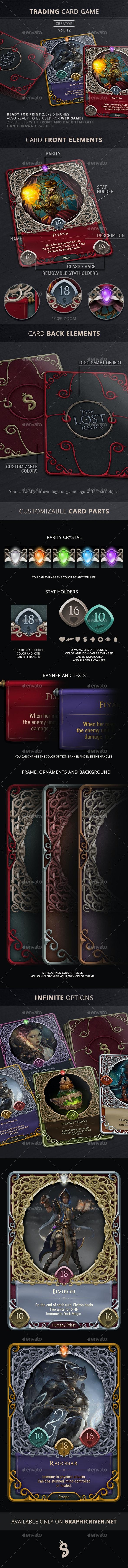 Trading Card Game Creator - Vol 12
