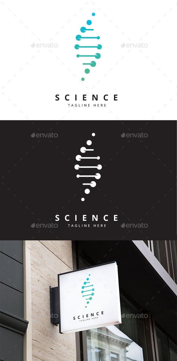 DNA Science logo - Abstract Logo Templates