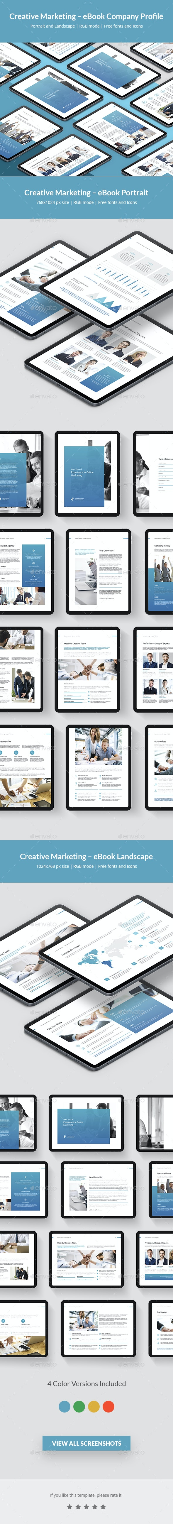 Creative Marketing – eBook Company Profile - Digital Books ePublishing