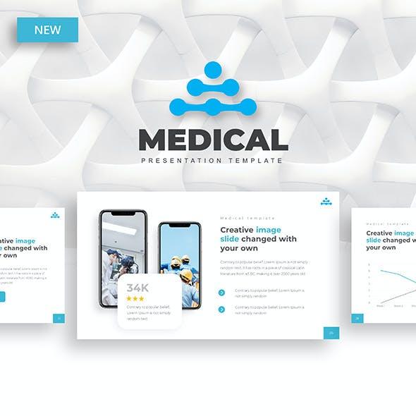 Medical – Hospital Service Google Slides Template