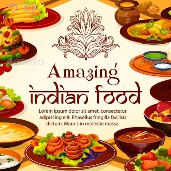 Indian Food Cuisine Menu