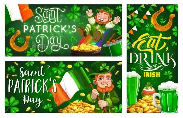 Patrick Day, Shamrock, Leprechaun - Seasons/Holidays Conceptual