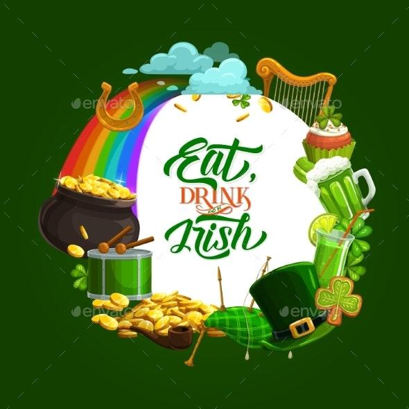 St. Patricks Day Frame - Seasons/Holidays Conceptual