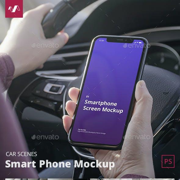 Phone Mockup Car Scenes