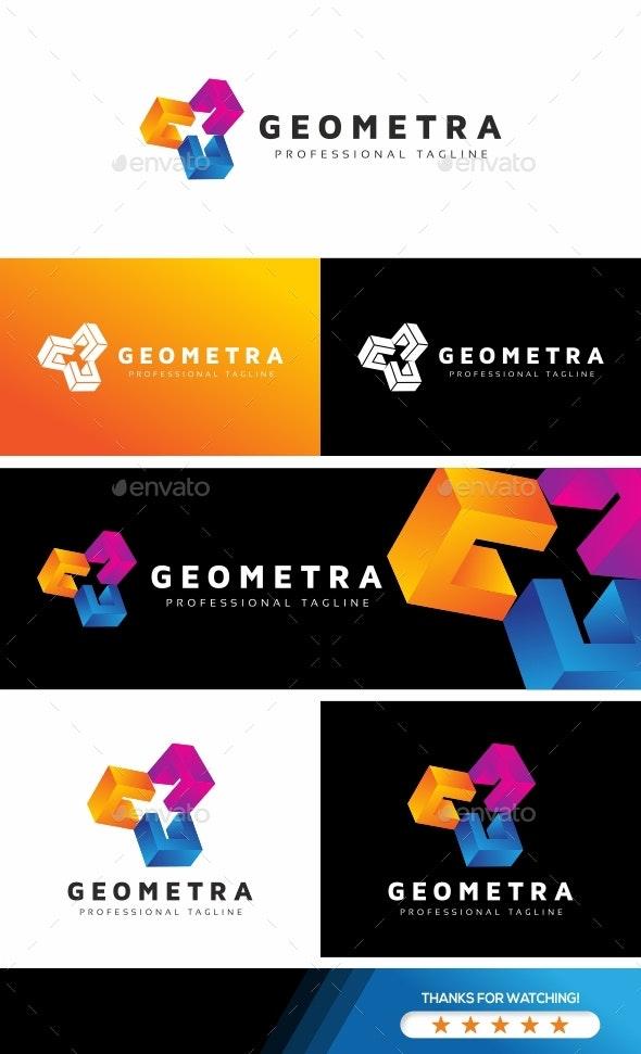 Geometra - Abstract Rotation Logo - Abstract Logo Templates