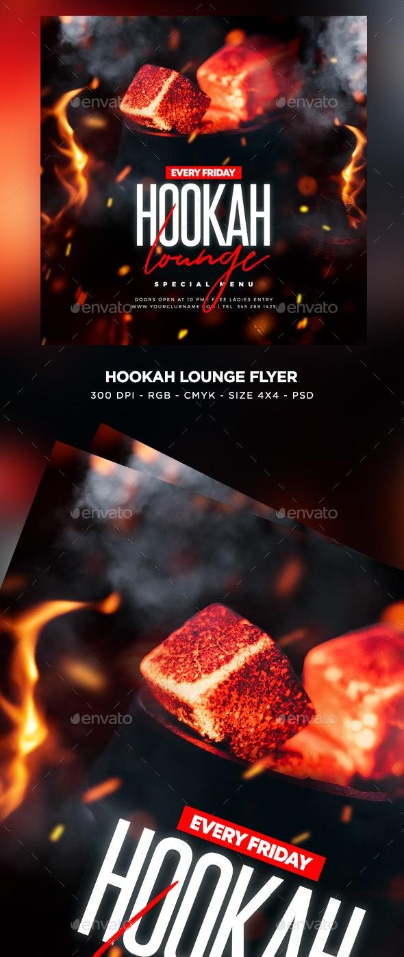 Hookah Lounge Flyer - Events Flyers