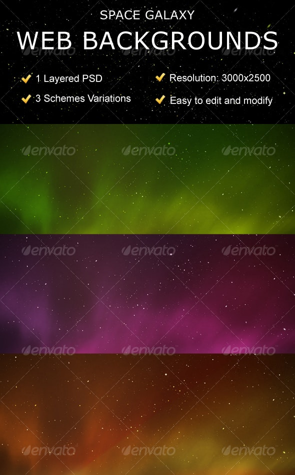 Space Galaxy Web Backgrounds  - Backgrounds Graphics