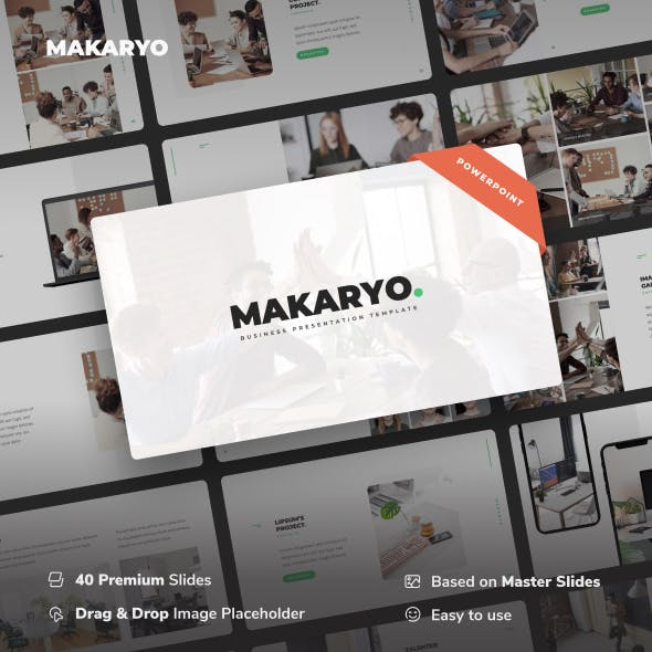 Makaryo - Corporate Business Power Point Template