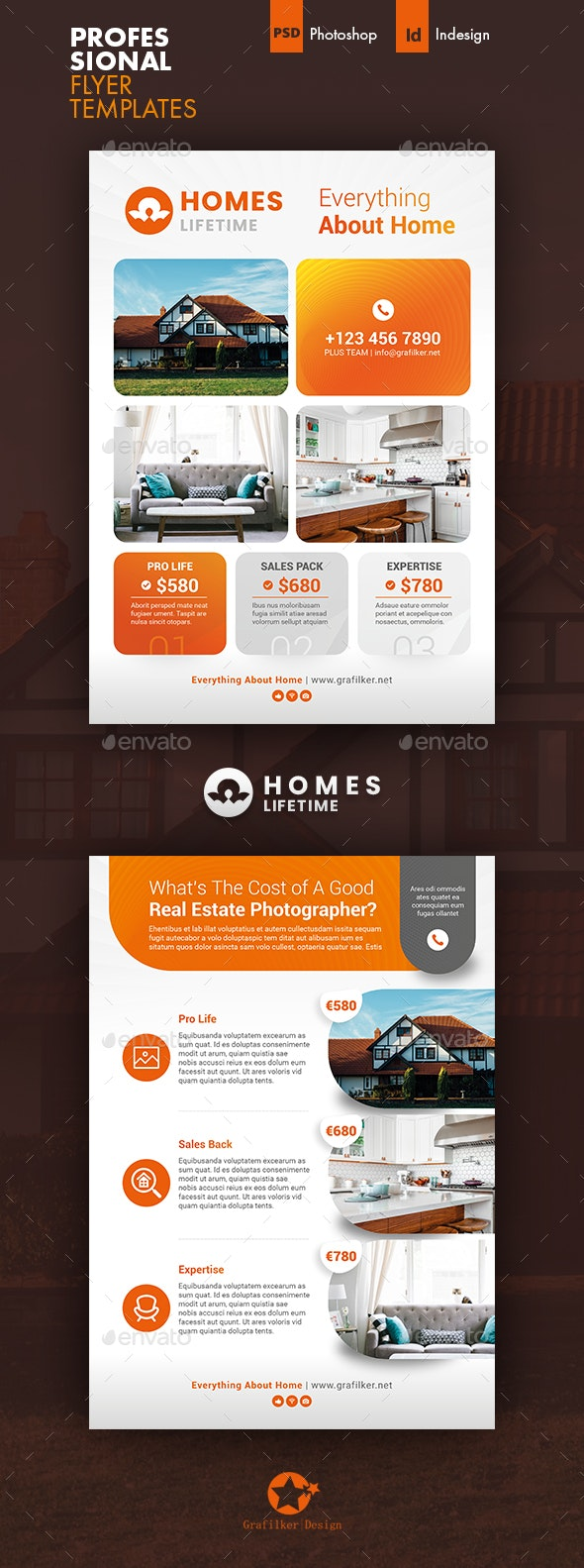 Real Estate Plan Flyer Templates - Corporate Flyers