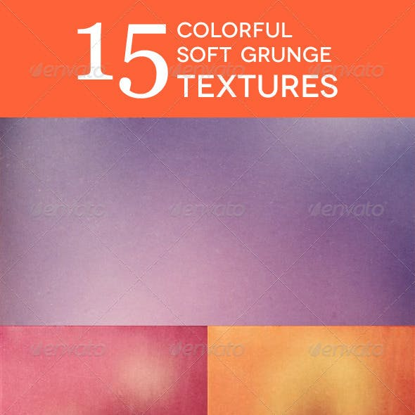 15 Colorful Soft Grunge Textures