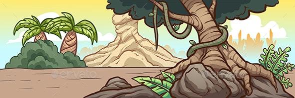 Prehistoric Background - Backgrounds Decorative