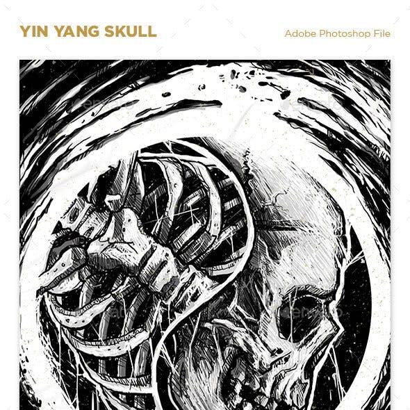 Yin Yang Skull