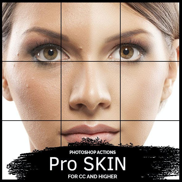 Pro Skin Photoshop Actions