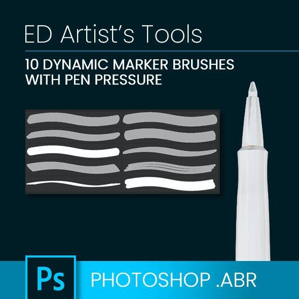 10 Dynamic Marker Brushes
